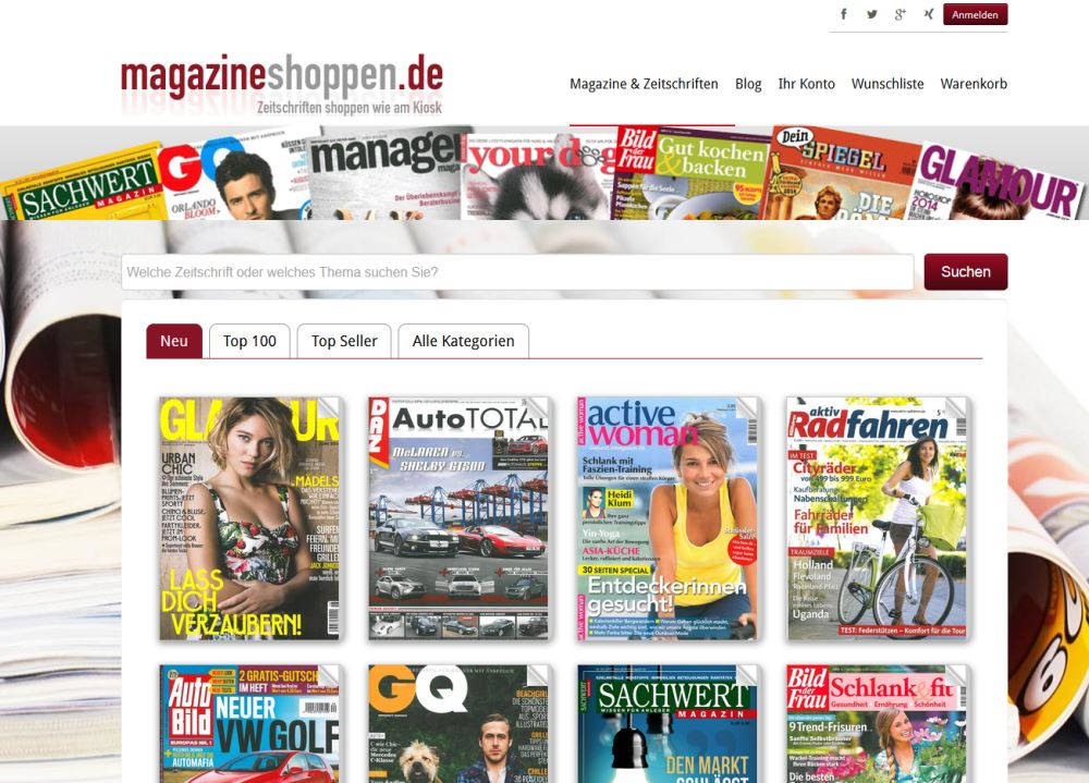 MD Media Publishing Service startet Magazineshoppen.de